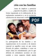 En relación con las familias