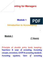 Accounts _Module 1 Introduction to Accountancy