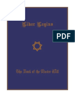 Liber Legius - The Book of the Master Will