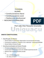 AULA 1 - Direito Constitucional I - Direito Constitucional e Constitucionalismo