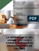 aditivosyconservanteenproductoslacteos-120813114645-phpapp01