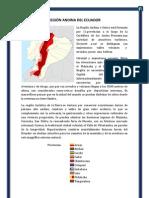 REGIÓN ANDINA DEL ECUADOR