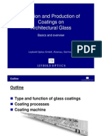 Glass Coating TechnFunction and Production of Coatings on Architectural Glass