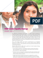 UNDP's Gender Equality Strategy (GES) for 2008-2011