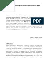 Medios de Revision de La Cosa Juzgada en El Derecho de Familia Original