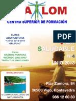 Revista Vida Saludable nª 4 - Shalom Centro Superior de Formación