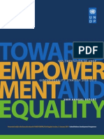 Towards Empowerment and Equality