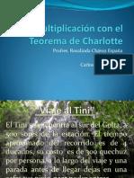 Multiplicación Teorema de Charlotte