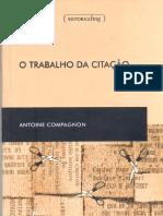 COMPAGNON,_Antoine_-_O_trabalho_da_citação