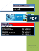 Letter of Credit Project