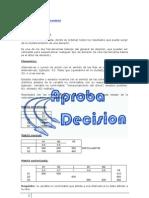 Matrices de Decision Resumen
