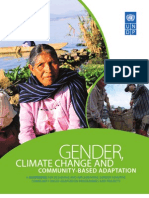Gender, Climate Change and Community-Based Adaptation