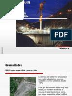 Presas de Concreto Compactado Con Rodillo 1