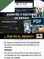 Agentes y Factores de Riesgo.
