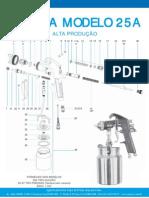 Pistolas Alta Mod 25a