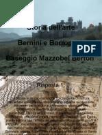 Lavoro di Storia dell'arte Berton Baseggio Mazzobel
