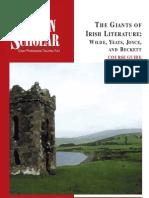 Giants of Irish Literature - Wilde, Yeats, Joyce, And Beckett (Booklet)