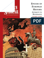 Epochs of European Civilization - Antiquity to Renaissance.pdf