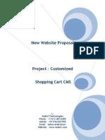 Project Proposal ShoppingCart