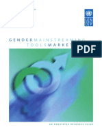 UNDP Gender Mainstreaming Tools Marketplace
