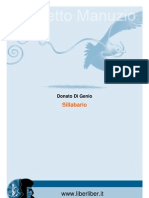 Donato Di Genio - Sillabario Illustrato Della Lingua Italiana