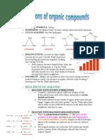 UNIT 2 Organic, Energetics, Kinetics and Equilibrium Part 2