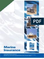 Tata Aig Marine Brochure