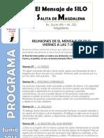El Mensaje de SILO - Salita de MAGDALENA - Programa JUNIO 2013