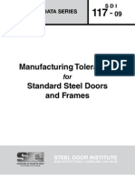 SDI_117 - Standard Steel Doors and Frames
