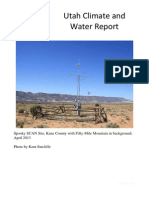 Utah Climate and Water Report, June 2013