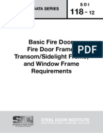 SDI_118 - Standard Steel Doors and Frames