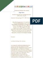 """MORIN, Edgar (1995) """"La Relación Ántropo-bio-cósmica"""".pdf"""