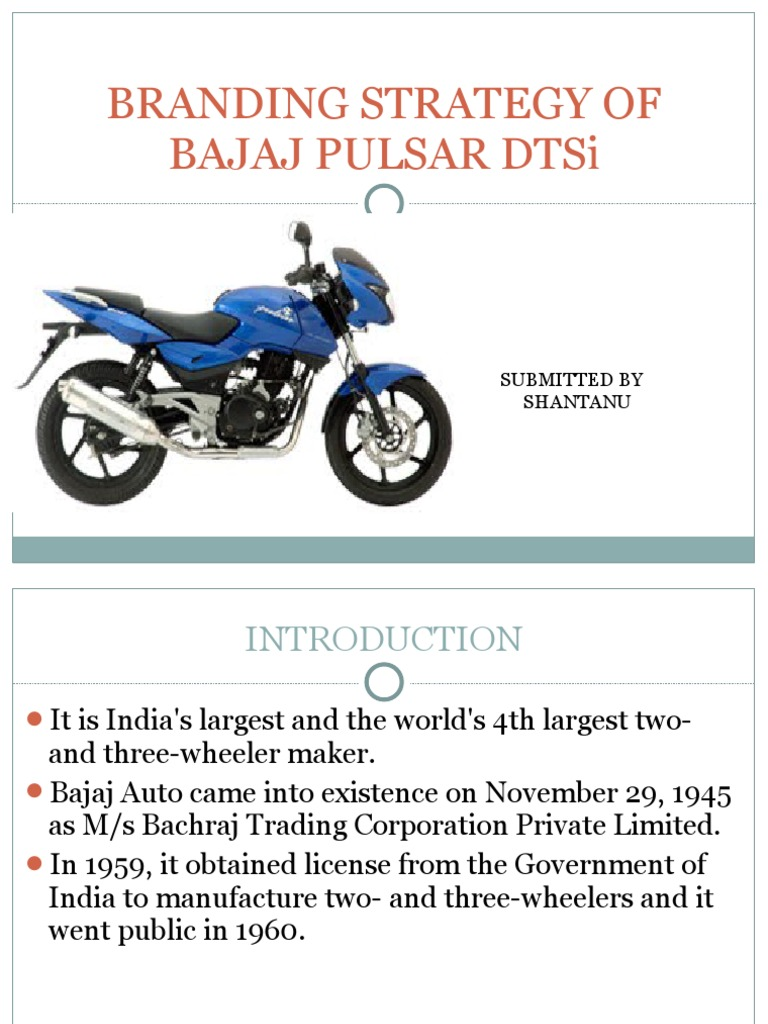 strategy of bajaj
