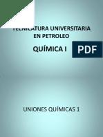 Uniones Quimicas Primera Parte 5-05-2013