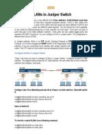 Configure VLANs in Juniper Switch.docx