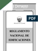 Reglamento de Edificaciones