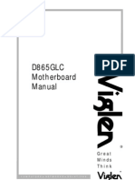 D865GLC Motherboard Manual