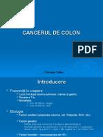 Curs 4 - Cancerul de Colon