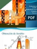 Arrabio - Acero -Procesos - Productos