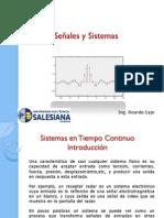 Señales y Sistemas - Capitulo II - Clase 1