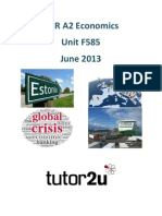 Tutor2u OCR F585 Toolkit June 2013