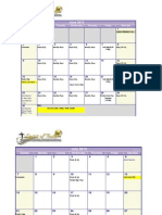 SOTWC 2013 Calendar