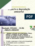 Aula 2.2 - Impacto e degradação ambiental