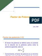 Factor de Potencia
