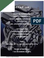 Informe de Motor Totoya 2.2
