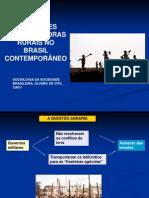 As Classes Trabalhadoras Rurais No Brasil Contemporaneo