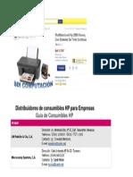 Sistema Inyeccion Continua1 y Distribuidores en Maracay