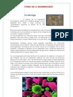 Historia de Microbiologia y Microscopio