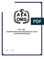 AAOMS Residency Program List