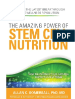 The Amazing Power of STEM CELL NUTRITION